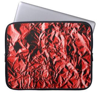 Capa Para Notebook Folha vermelha #2