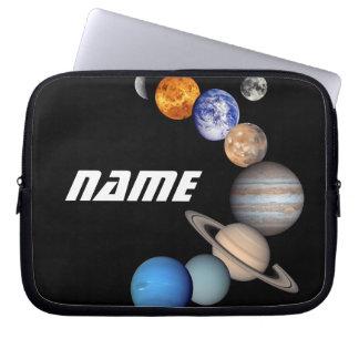 Capa Para Notebook Fotos do montagem JPL do sistema solar -