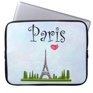 Capa Para Notebook Francês Paris com torre Eiffel