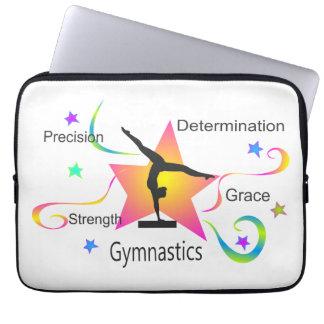Capa Para Notebook Ginástica - determinação Grac da força da precisão