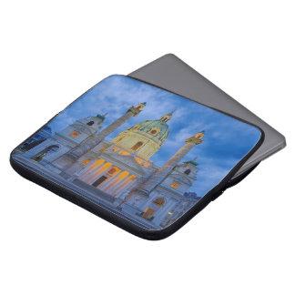 Capa Para Notebook Igreja do santo Charles, Viena
