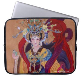 "Capa Para Notebook Imperatriz chinesa 15"" a bolsa de laptop"