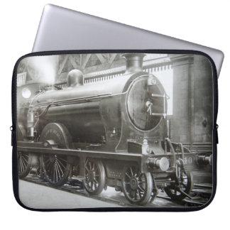Capa Para Notebook Locomotiva de vapor (senhora de Avenal)