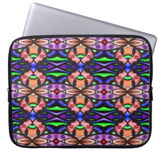 Capa Para Notebook Luva colorida do laptop do design
