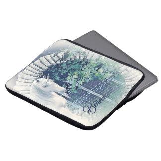 Capa Para Notebook Luva da parte superior do regaço do jardim do