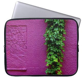 Capa Para Notebook Luva roxa do laptop