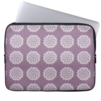 Capa Para Notebook Mandala das glicínias