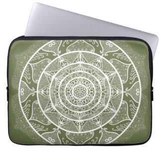Capa Para Notebook Mandala do musgo