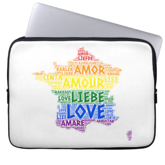 Capa Para Notebook Mapa de France do arco-íris de LGBT ilustrado com