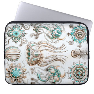 Capa Para Notebook Medusa de Ernst Haeckel Narcomedusae!