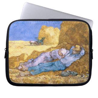 Capa Para Notebook Meio-dia de Vincent van Gogh |, o Siesta, após o