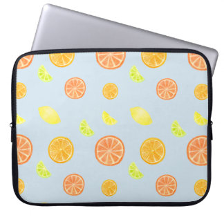 Capa Para Notebook O citrino corta a bolsa de laptop