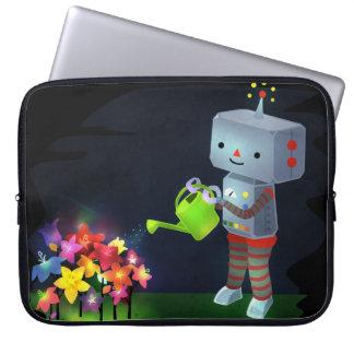 Capa Para Notebook O jardim do robô