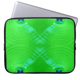 Capa Para Notebook Ondinha verde-clara 4