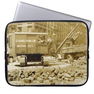 Capa Para Notebook Os anos 20 do guindaste de construção da Nova