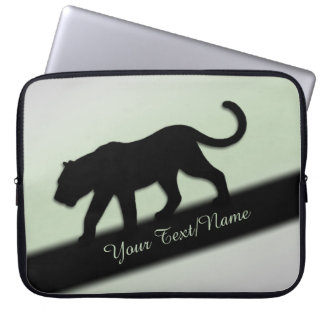 Capa Para Notebook Pantera preta pessoal