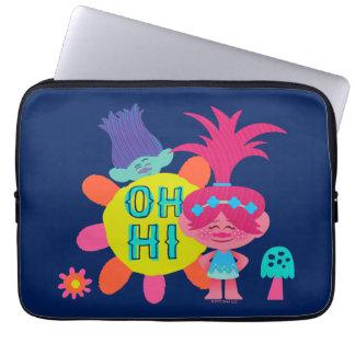 Capa Para Notebook Papoila & ramo dos troll | - oh olá! lá