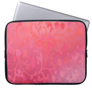 Capa Para Notebook Pink Flowers