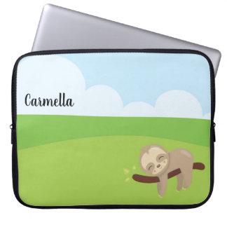 Capa Para Notebook Preguiça sonolento personalizada