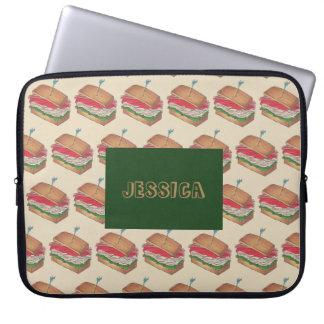 Capa Para Notebook Presente personalizado da comida de Foodie do