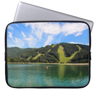 Capa Para Notebook Reflexão dos lagos mountain