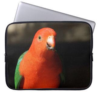 Capa Para Notebook Rei masculino australiano Papagaio