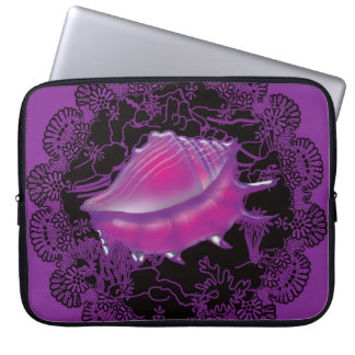 Capa Para Notebook Roxo do Seashell