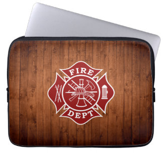 Capa Para Notebook Saco do laptop da cruz maltesa do departamento do