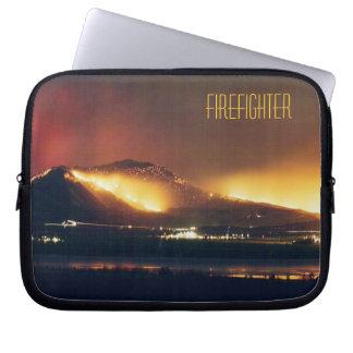 Capa Para Notebook Sapador-bombeiro do fogo