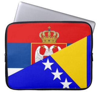 Capa Para Notebook serbia Bósnia - símbolo do país da bandeira de