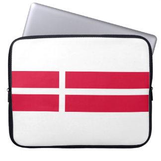 Capa Para Notebook Símbolo da bandeira de país de Dinamarca por muito