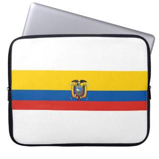 Capa Para Notebook Símbolo da bandeira de país de Equador por muito