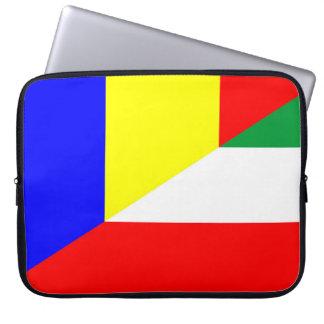 Capa Para Notebook símbolo do país da bandeira de romania Hungria