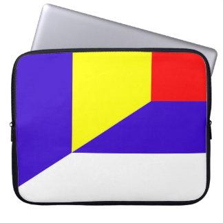 Capa Para Notebook símbolo do país da bandeira de serbia romania meio