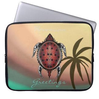 Capa Para Notebook Tatuagem da tartaruga da fantasia