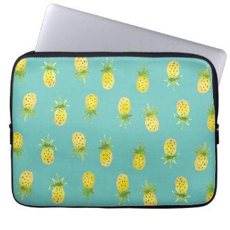 """Capa Para Notebook Teste padrão 13"""" do abacaxi da aguarela a bolsa de"""