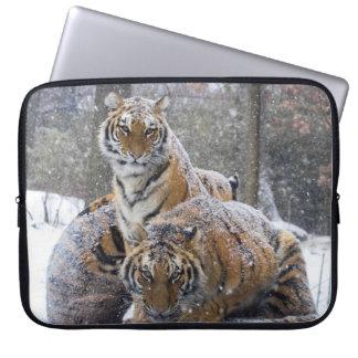 Capa Para Notebook Tigres do inverno