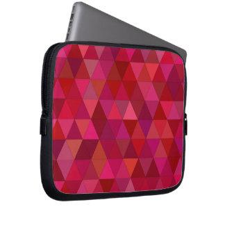 Capa Para Notebook Triângulos marrons