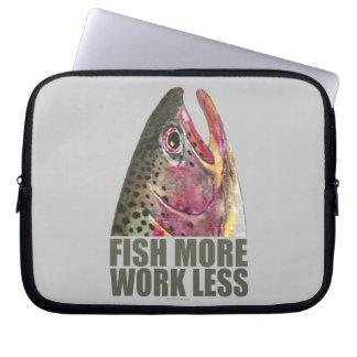 Capa Para Notebook Truta que pesca mais