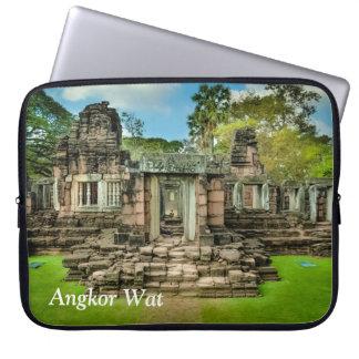 Capa Para Notebook UNESCO de Cambodia do templo de Angkor Wat