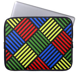 Capa Para Notebook Weave de cesta