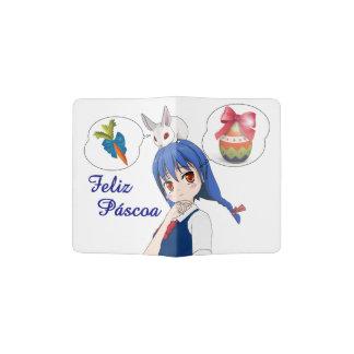Capa Para Passaporte Feliz Páscoa (Personalizável)