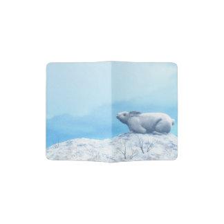 Capa Para Passaporte Lebre ártica, lepus ártico, ou coelho polar