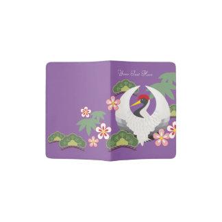 Capa Para Passaporte Os símbolos japoneses da boa sorte refrigeram o
