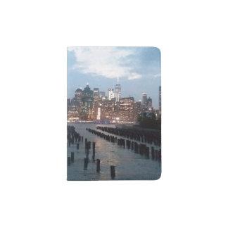 Capa Para Passaporte Suporte do passaporte da skyline de NYC