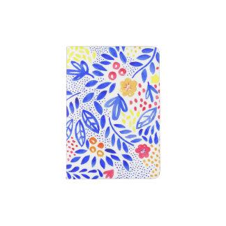 Capa Para Passaporte Suporte floral corajoso do passaporte do Belle