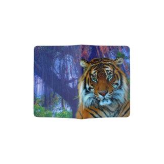 Capa Para Passaporte Tigre selvagem