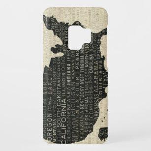 Capa Para Samsung Galaxy S9 Case-Mate Mapa dos EUA