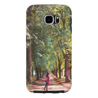 Capa Para Samsung Galaxy S6 A estrada do grump da floresta