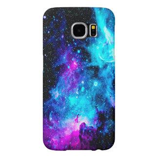 Capa Para Samsung Galaxy S6 A galáxia da nebulosa Stars a caixa feminino
